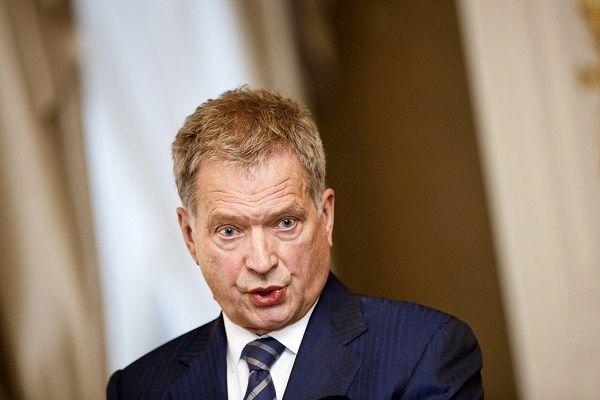 Tasavallan presidentti Sauli Niinistö.