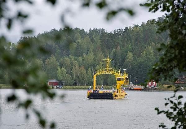 Kokkilan lossi ei kulje perjantaina päivällä. Kuva: SSS/Minna Määttänen