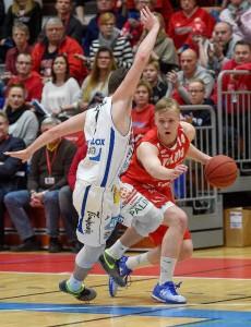 Loistavaan vireeseen päässyt Vilppaan Okko Järvi pelasi yhden uransa parhaista peleistään keskiviikkona.