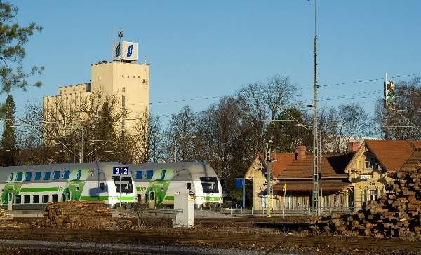 Junalla Matkustaminen