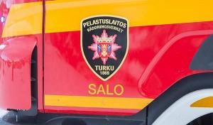 Asukas oli sammuttanut palon itse jo ennen pelastuslaitoksen saapumista.