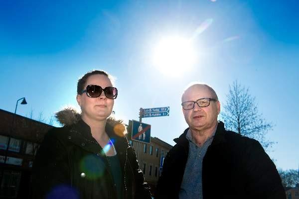Taru Sahla ja hänen isänsä Lauri Sahla pitävät kevättä innostavana vuodenaikana.