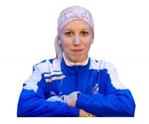 Minna Lamminen urheilee ensimmäisissä aikuisten arvokisoissaan 33-vuotiaana.