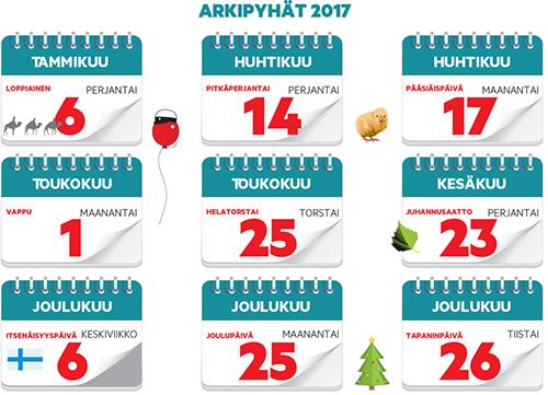 joulu 2018 vapaat Joulu tuo lisää arkivapaita ensi vuonna | Laitilan Sanomat joulu 2018 vapaat