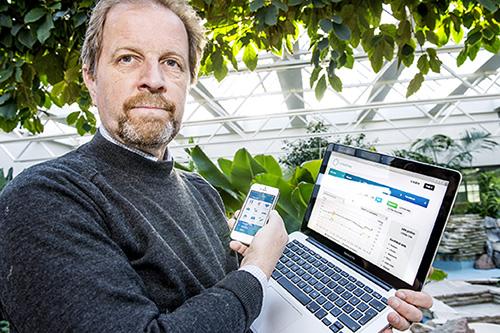 App Store ja Play-kauppa ovat täynnä yksilökeskeisiä terveysapplikaatioita. – Kokemukseni mukaan moni lataa tällaisen sovelluksen, käyttää sitä muutaman kerran ja sitten käyttö unohtuu. Meidän versiossamme terveyden tai hyvinvoinnin ammattilainen on mukana tulkitsemassa tuloksia, kuvailee Jarl Eklund.