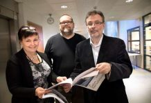 Kurssisihteeri Paula Alanne, apulaisrehtori Kari Koivunen ja rehtori Jukka Tamminen uskovat kurssitarjonnan tavoittavan monenlaisia opiskelijoita. Kansalaisopistolla on toimintaa noin 50 pisteessä ympäri Saloa.
