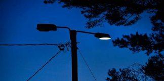 Kajalan ulkoilualueella Perttelissä on useita sammuneita lamppuja.