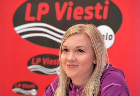 LP Viestin uusi keskitorjuja Eeva Puukka on selättänyt olkapäävammansa.