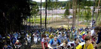 Venlojen viestin lähtö Salossa vuonna 2006.