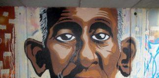 Gordon Maxwellin maalaama graffiti.