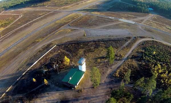 Uusi hanke toisi lisäkäyttöä Kiikalan lentokentälle. Kuva: SSS/Kirsi-Maarit Venetpalo
