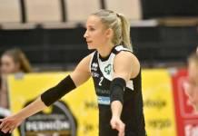 Erinomaisen runkosarjan pelannut libero Hillaelina Mäntylä on yksi LP Viestin avainpelaajista puolivälieräsarjassa LP Kangasalaa vastaan.