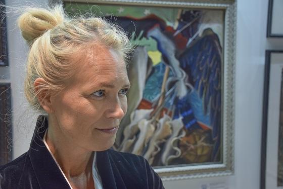 Johanna Oraksen kuvia Suomesta on parhaillaan esillä Logomon tiloissa Turussa.