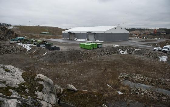 Jätevoimala on tarkoitus rakentaa Saloon Korvenmäen jätekeskukseen.