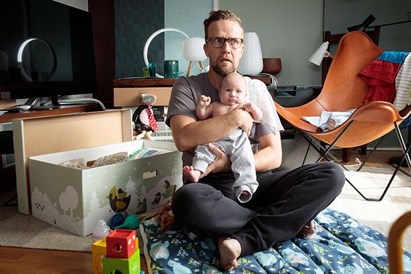 Yösyöttö elokuvan pääosassa on Petteri Summanen. Kuva: Nordisk Film.
