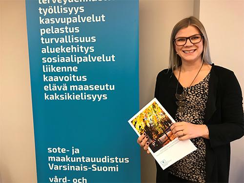 Riina Hiltunen, projektipäällikkö, Turun kauppakorkeakoulu